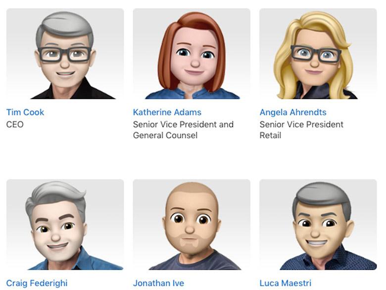 اپل ایموجی  رسمی مدیران خود را منتشر کرد؛ سرگرم کننده به مناسبت روز جهانی ایموجی یا قابلیتی در آینده نزدیک؟