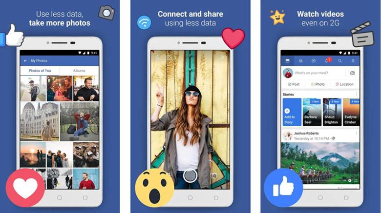 facebook lite composite 840x471 - بهترین اپلیکیشنهای سبک اندروید و اندروید گو برای گوشیهای رده پایین