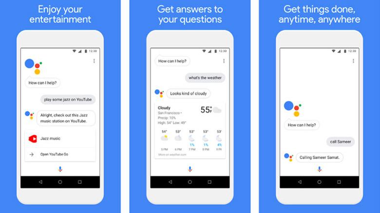 google assistant go composite 840x472 - بهترین اپلیکیشنهای سبک اندروید و اندروید گو برای گوشیهای رده پایین