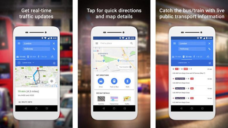 google maps go composite 840x472 - بهترین اپلیکیشنهای سبک اندروید و اندروید گو برای گوشیهای رده پایین