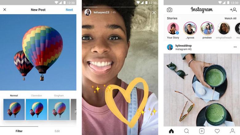 instagram lite composite 840x473 - بهترین اپلیکیشنهای سبک اندروید و اندروید گو برای گوشیهای رده پایین