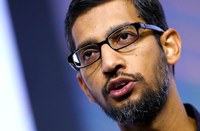 sundar pichai  - موج نشتهای اطلاعاتی بر ضد گوگل دارد این شرکت را وادار به پایان دادن فرهنگ باز میکند
