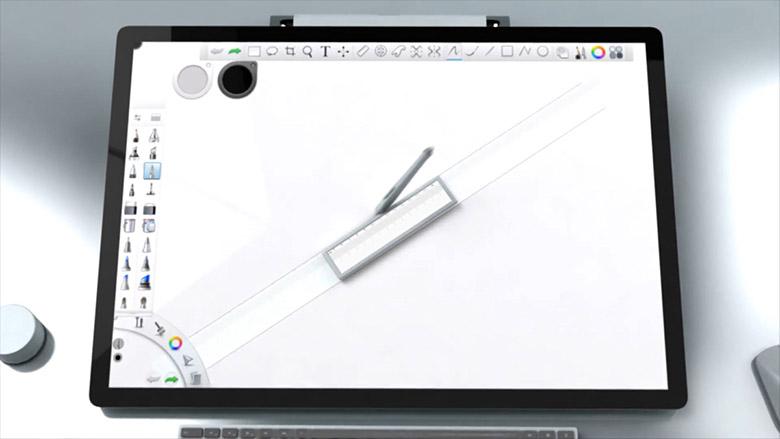 surface studio 2 concept - سرفیس استودیو ۲ میتواند همان رویای طراحان و گرافیستها باشد