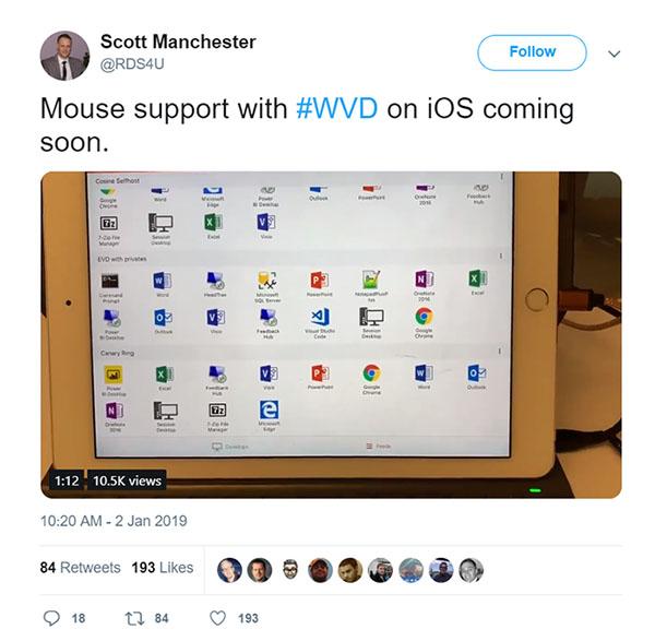 تماشا کنید: چگونه آیپد پرو به یک کامپیوتر دسکتاپ ویندوز ۱۰ تبدیل میشود