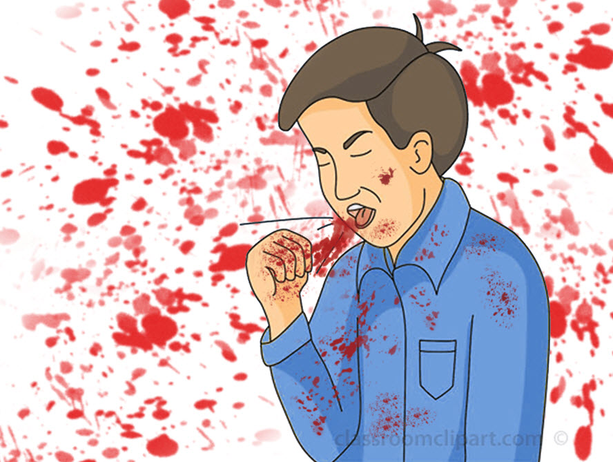 خونریزی ریه یا هموپتیزی