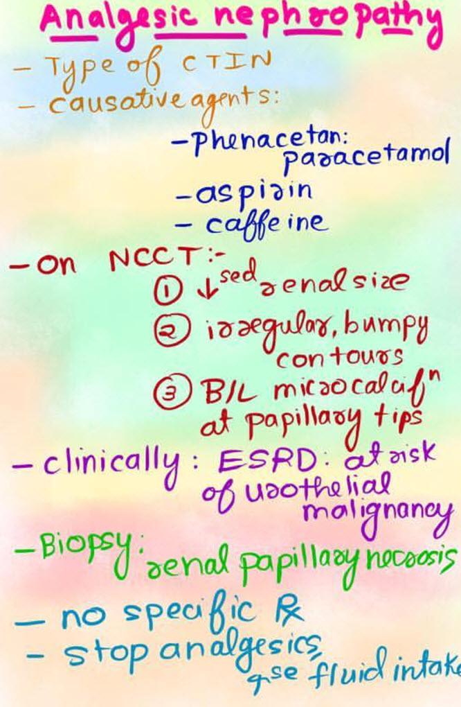 نفروپاتی ناشی از داروهای مسکن