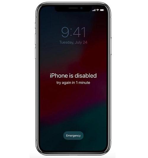 آموزش دسترسی به آیفون پس از فراموش کردن رمزعبور و قفل شدن صفحهنمایش