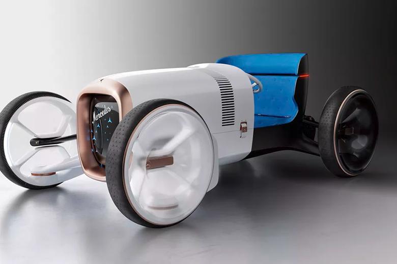 مرسدس بنز با این خودروی الکتریکی مفهومی کل دنیا را شوکه و صنعت خودروسازی را دگرگون کرد (گالری عکس)