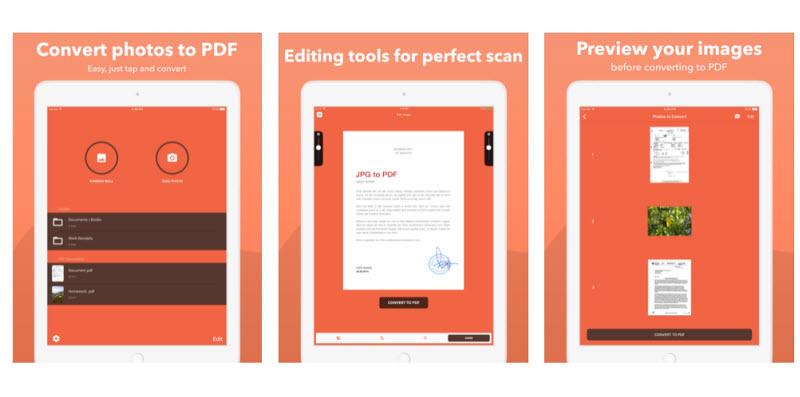 تبدیل آسان و سرراست عکسها به فایل PDF با اپلکیشن Photos to Pdf