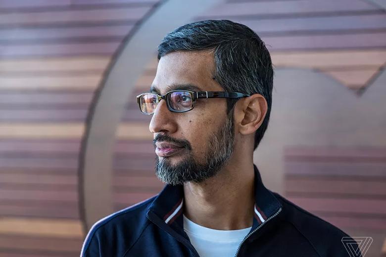 ساندرای پیچای مدیرعامل الفابت و جانشین لری پیج و سرگی برین، بنیانگذاران گوگل شد