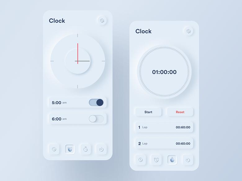 تصور کنید در سال 2020 سبک طراحی اسکیومورفیسم به اسمارتفونها و ساعتهای هوشمند بازگردد