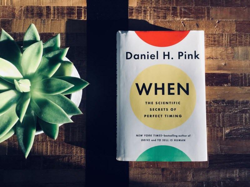 کتاب کی؛ ترفندهای علمی زمانسنجی عالی - نوشته دنیل پینک