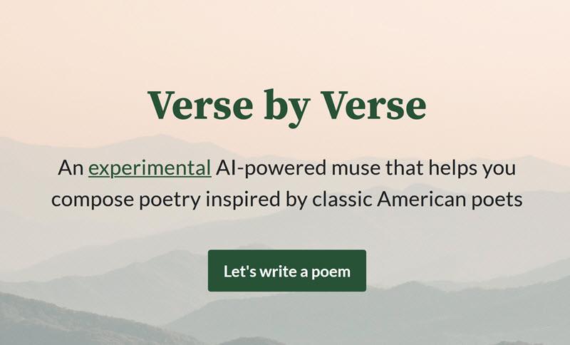 وقتی از امیلی دیکینسون، ادگار آلن پو و والت ویتمن خواستم که شعر حافظ را تکمیل کنند! گوگل و ابزار هوش مصنوعی برای الهام شاعرپیشگان